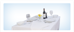 Napkins and Tablecloth Commercial Rental Services