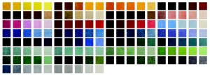 HD Custom Mat Color Options
