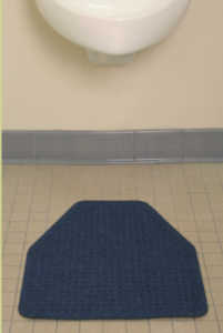 urinal restroom service mats