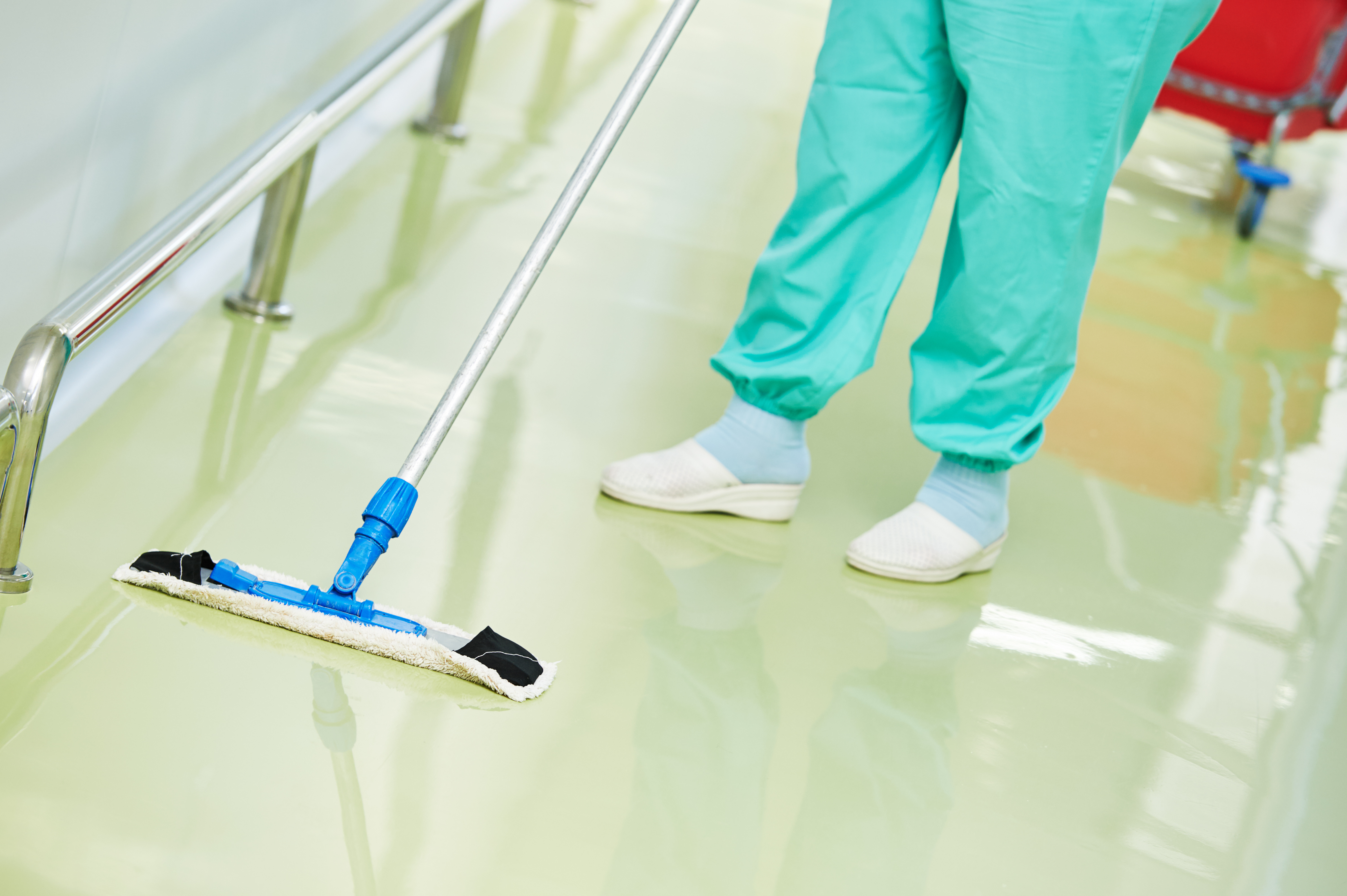 professional cleaning floor mop
